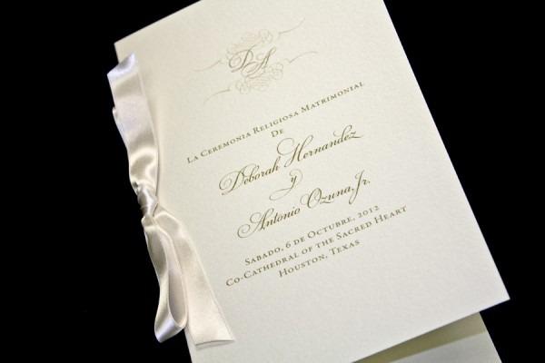 Houston Wedding Invitations