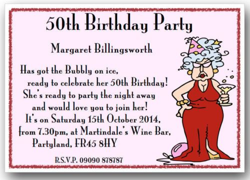 Th Birthday Invite Wording Funny Images About Messages And