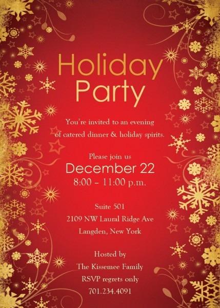 Defacfebafcfb Unique Holiday Party Invitation Template