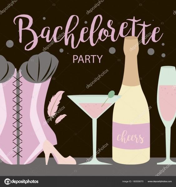 Lingerie Party Invitation Cards Beautiful Underwear Bachelorette