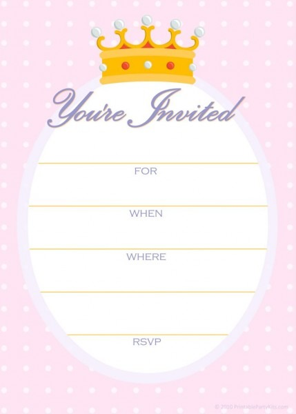 Design And Print In Perfect Print Party Invitations Free