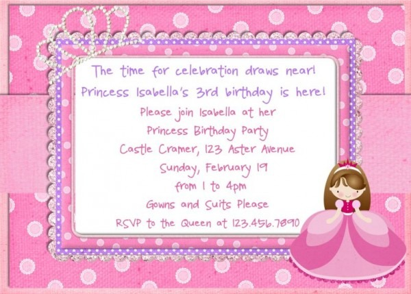 Design Lovely Th Birthday Invitation Wording Girl With Charming Th