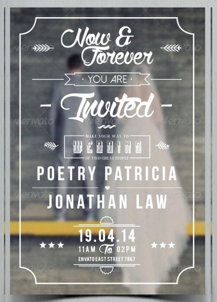 Main Preview Ideal Indesign Invitation Template