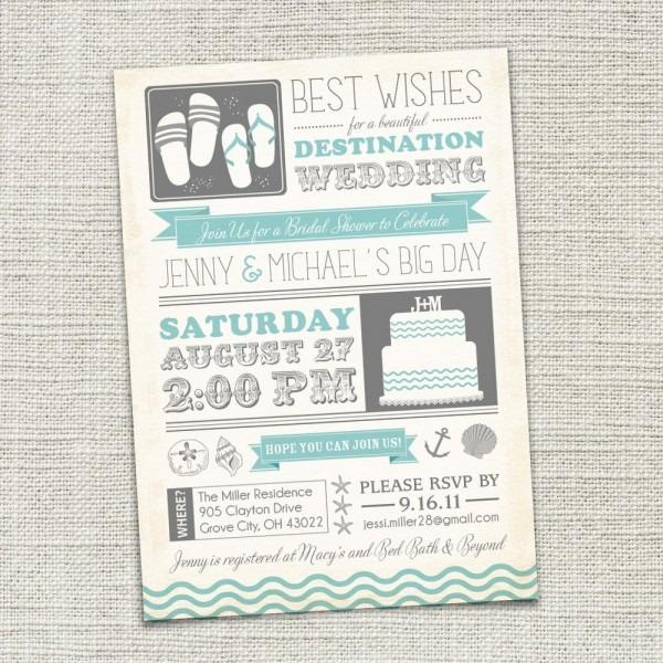 Destination Wedding Invitation Wording Destination Wedding