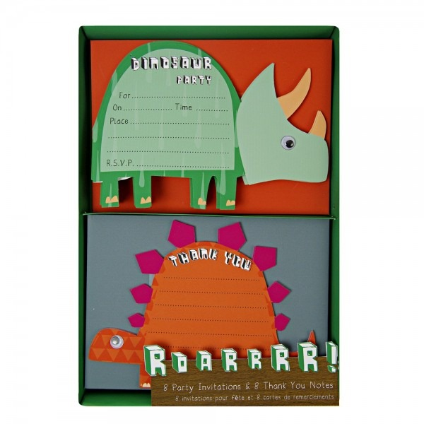Dinosaur Party Invitations By Meri Meri