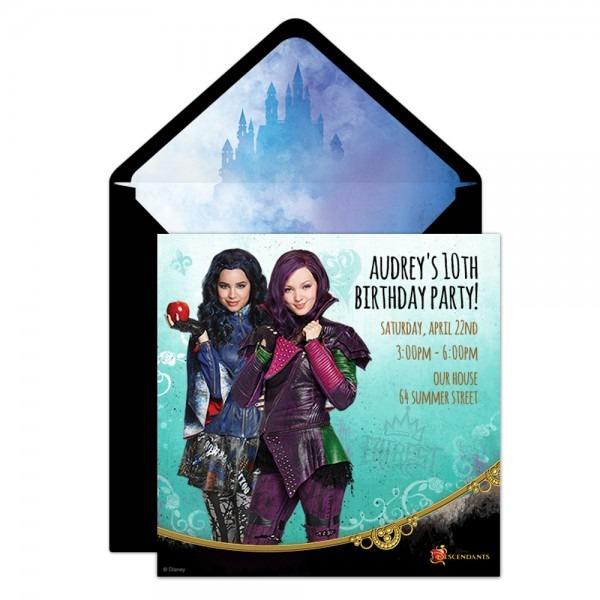 Descendants' Party Online Invitation