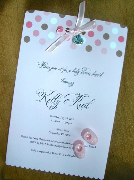 Diy Baby Shower Invitations