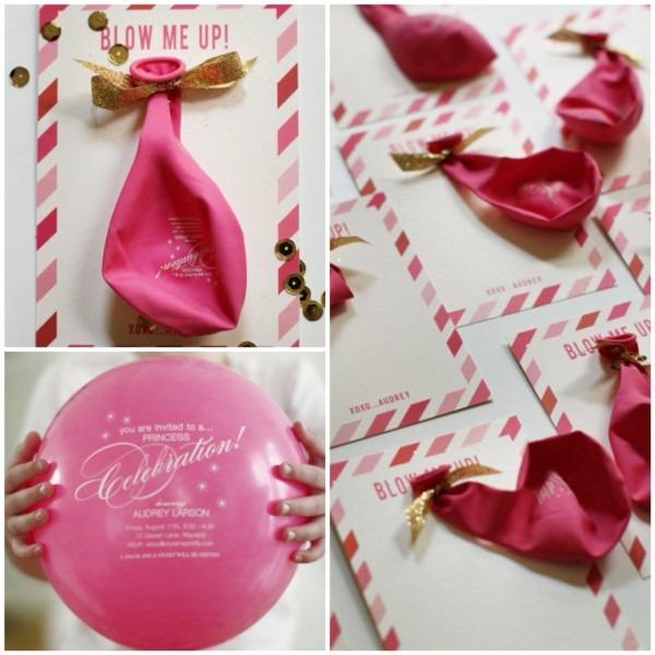 A Diy Pink + Gold Princess Party
