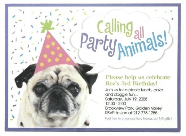 Dog Birthday Invitations Free Fresh With Dog Birthday Invitations