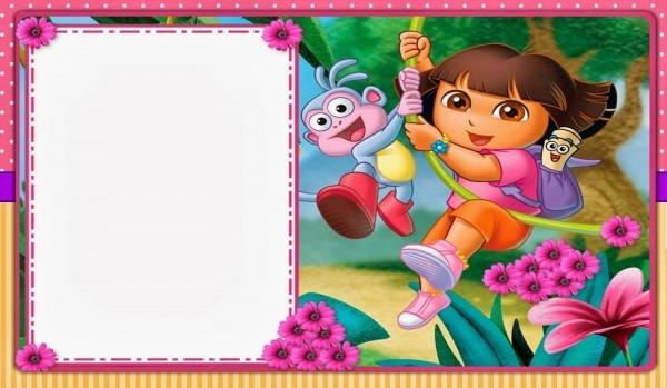 Dora The Explorer Invitation Template Free Orderecigsjuice Info