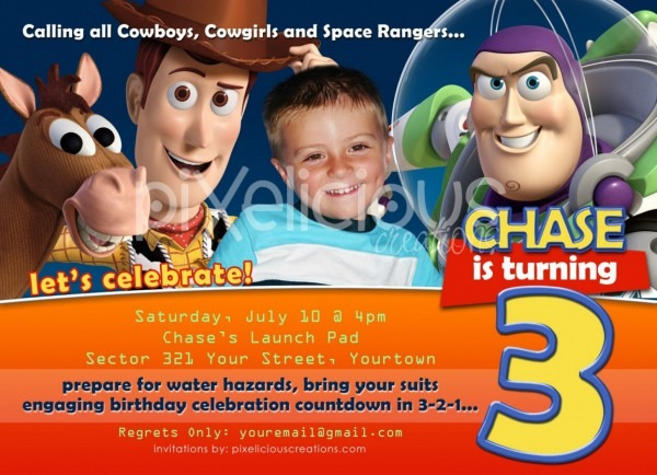 Get 20 Toy Story Invitation Template