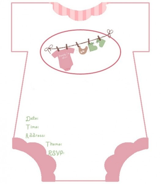 Downloadable Baby Shower Invitation Templates Free Ideal With