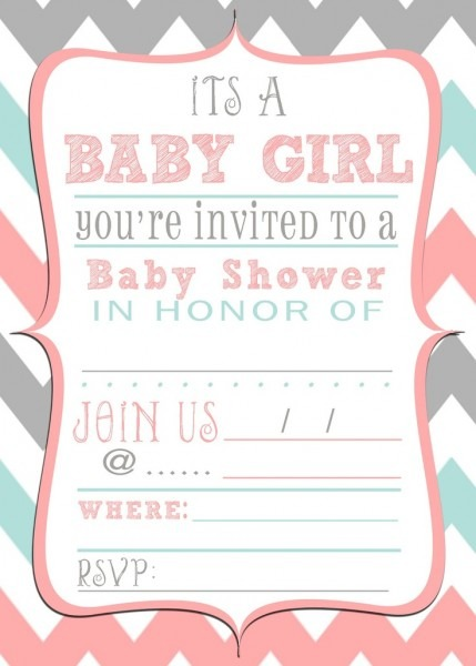 Downloadable Baby Shower Invitation Templates Free Lovely With