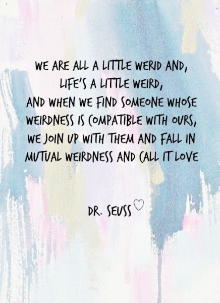 Dr Seuss Weird Quote Wedding Invitation Best Of Earth Day