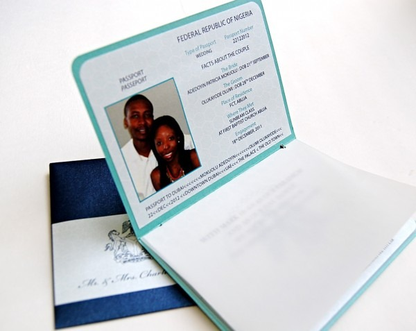 Nigerian Wedding Invitations