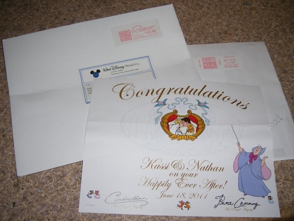 Kassi  My Road To Mrs  Well Wishes From Disney!