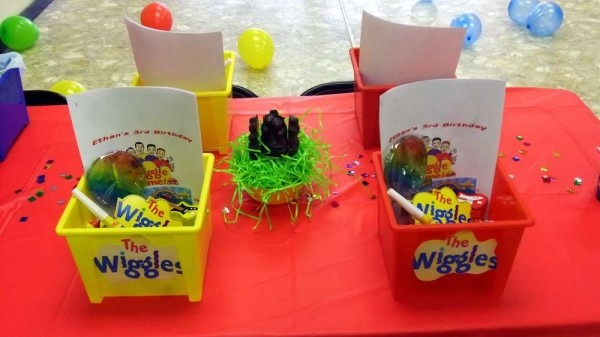 The Wiggles Birthday Party Ideas