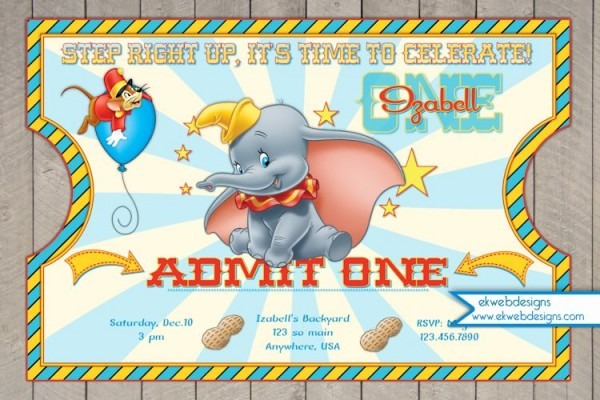 Dumbo Baby Shower
