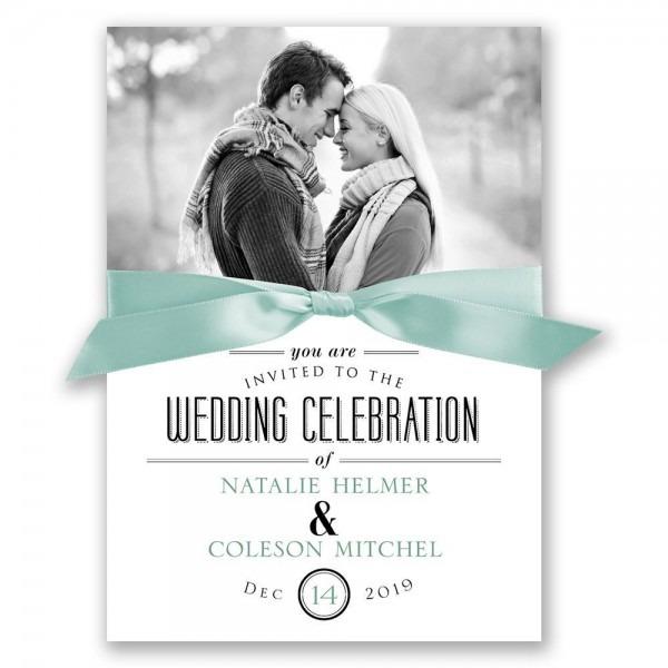 A Wedding Celebration Invitation