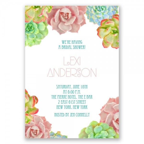 Wedding Ideas  Wedding Shower Invites
