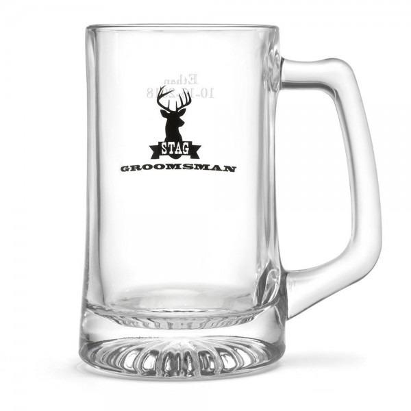 Stag Beer Mug Groomsman