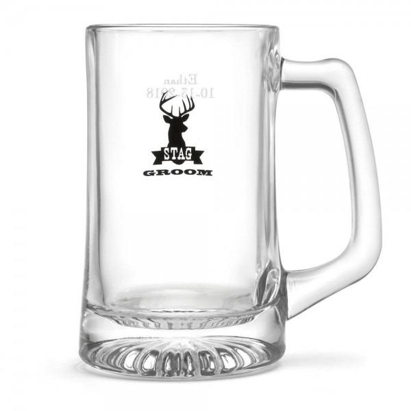 Stag Beer Mug Groom