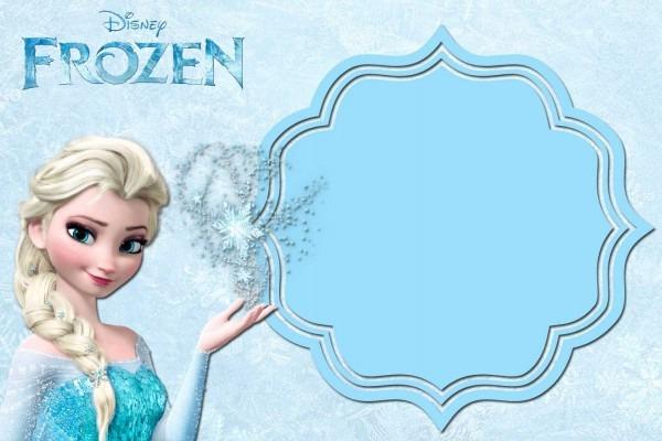 Free Printable Frozen Anna And Elsa Invitation Templates