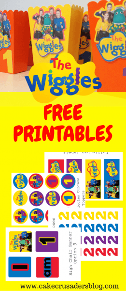 The Wiggles Birthday Party Decorations With Free Printable Images