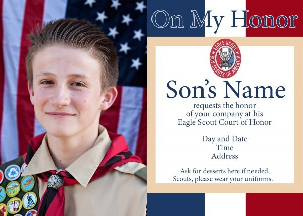 Eagle Scout Ceremony Invitation Template Best Of Fresh Court Honor
