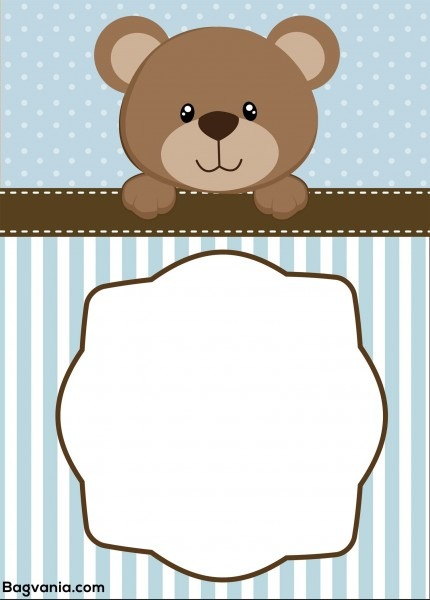 Ebcccbeadbdcb Perfect Teddy Bear Baby Shower Invitation Template