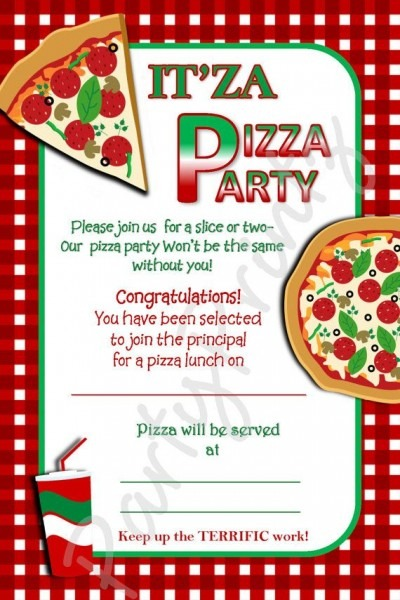 Pizza Party Invitation As Awesome Party Invitation Template We