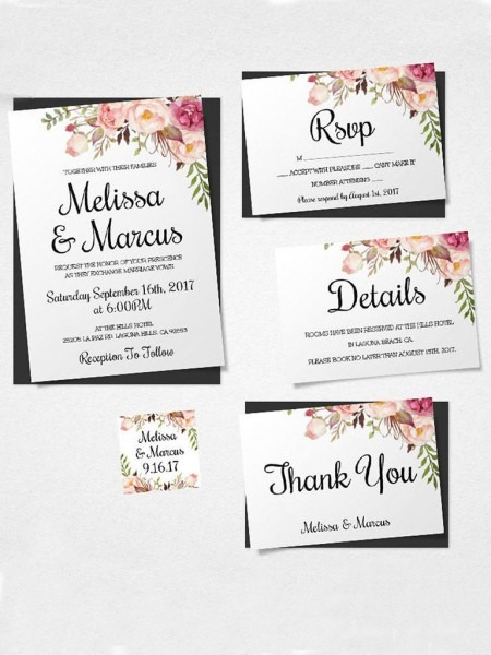 Wedding Ideas  Free Printable Wedding Invitations