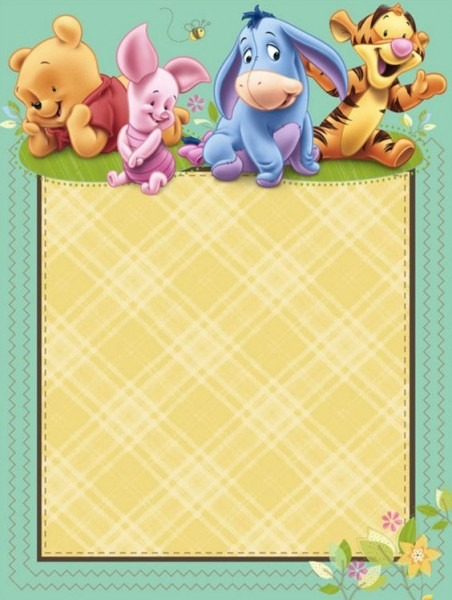 Efdcebeccc Fancy Winnie The Pooh Baby Shower Invitations Templates
