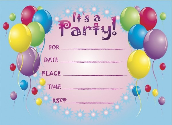 Electronic Party Invitations Electronic Party Invitations For
