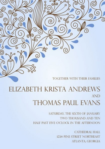 Electronic Wedding Invitations Electronic Wedding Invitations This