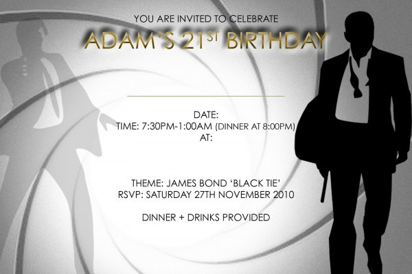 Elegant 21st Birthday Invitation Cards 90 For Your Card Picture