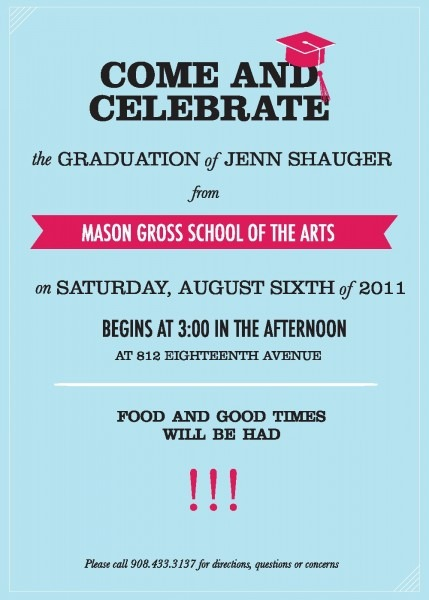 Elegant Graduation Invitation Letter 61 For Your Free Printable