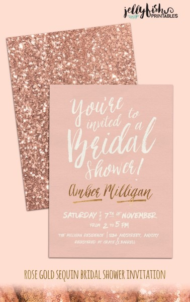 Elegant Best Party Invitation Collection Bridal Shower Invitations 30 About Remodel Free