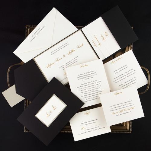 Pocket Wedding Invitations Australia