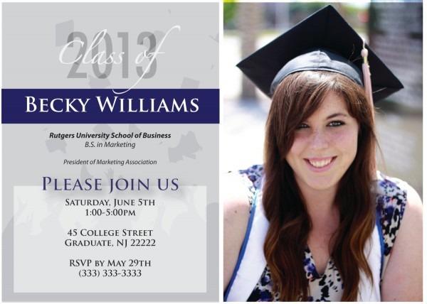 Elegant Senior Graduation Invitations 30 For Invitation Definition