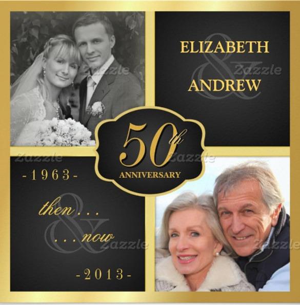 Th Wedding Anniversary Invitations Free Templates Inspirational On