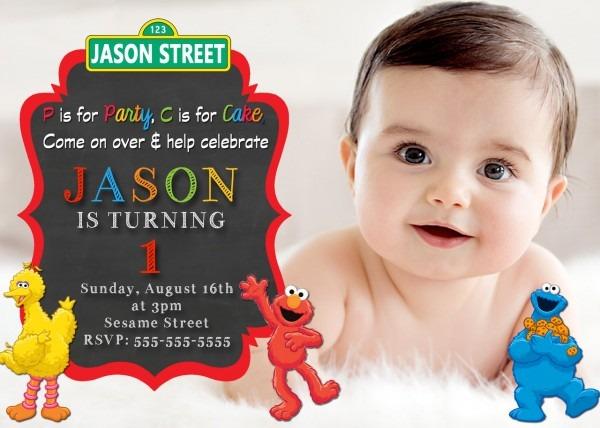 Elmo Birthday Invitations Superb Elmo Personalized Invitations 1st