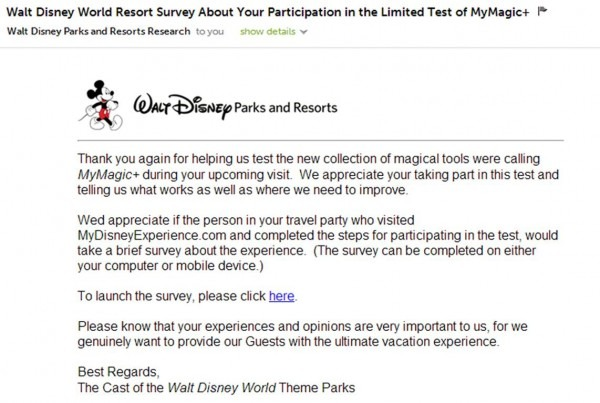 Fastpass+ Survey From Disney World Asks The Right Questions