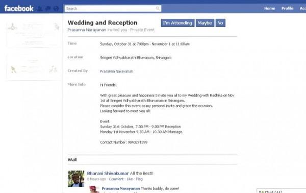 Wedding Invitation Mail Template