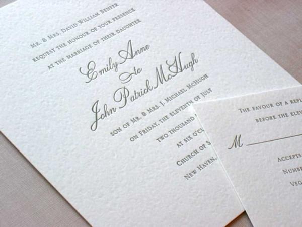 Emily Post Wedding Invitations Emily Post Wedding Invitations By