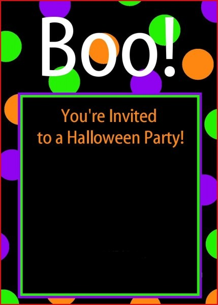 Epic Halloween Birthday Party Invitations Free Printable 16 With