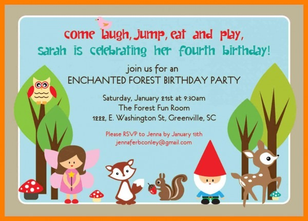 Examples Of Birthday Invitations Example Party Invitations