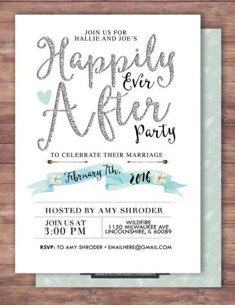 Imágenes De Funny Wedding After Party Invitations