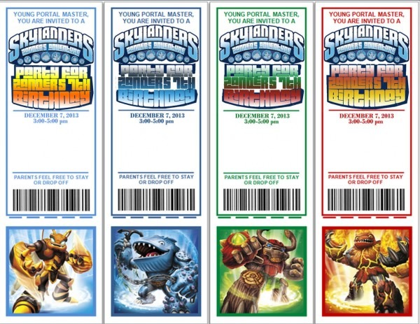 Skylanders Birthday Party  13 Steps (with Pictures)