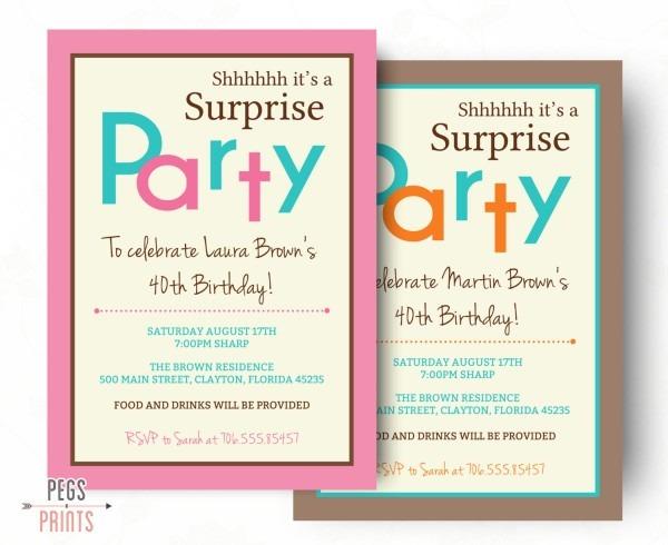 Fabulous Surprise Party Invites 15 About Hd Image Picture Ideas